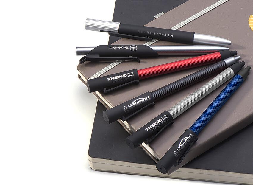 ของพรีเมี่ยม ปากกา โลหะ แบบกด premium gift metal pen