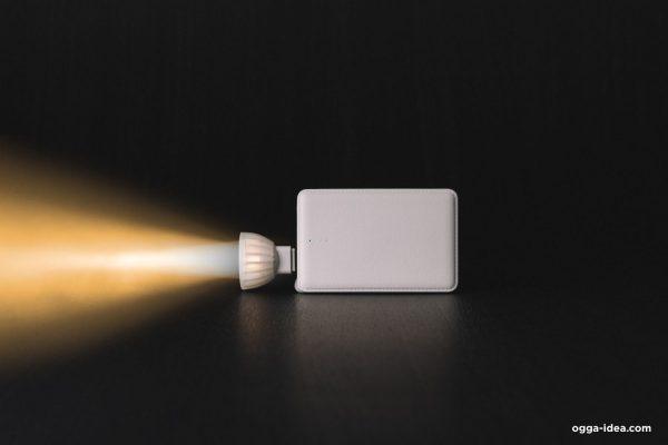 ของพรีเมี่ยม กิฟท์เซ็ท พาวเวอร์แบงค์ + โคมไฟแรงสูง Premium Gift set Powerbank + Hi Power Lamp
