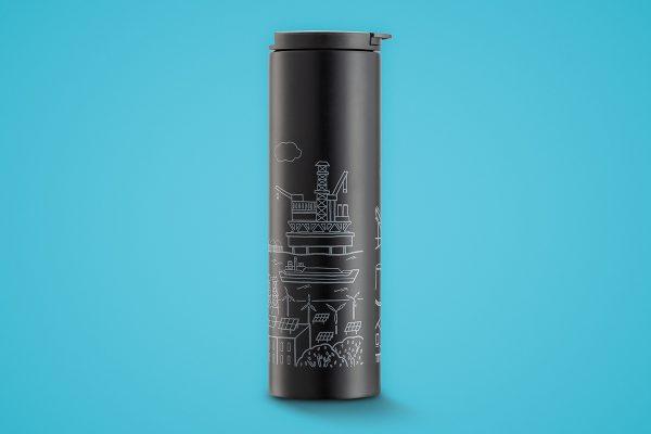ของพรีเมี่ยม แก้วน้ำ กระบอกน้ำสแตนเลส #OGD022
