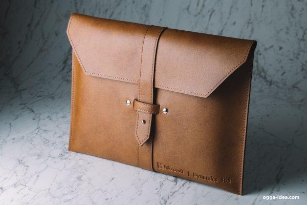 ของพรีเมี่ยม กระเป๋าหนังใส่เอกสารขนาด A4 | Ogga Idea